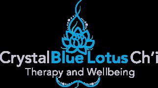 Crystal Blue Lotus Chi Logo